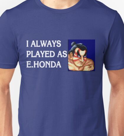 Street Fighter 2 Memories E.HONDA Unisex T-Shirt