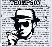 Hunter.S.Thompson. Words. by brett66