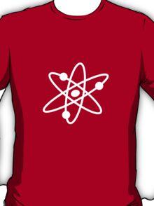 The Big Bang Theory Atom Logo 2 (in white) T-Shirt