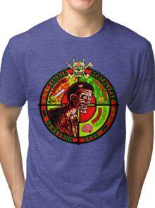 Zombie Apocalypse Survivor Type (Big Pic) Tri-blend T-Shirt