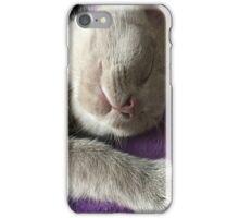 Monty sleeping iPhone Case/Skin