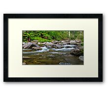 Rocky Valley Creek - Alpine National Park Victoria Framed Print