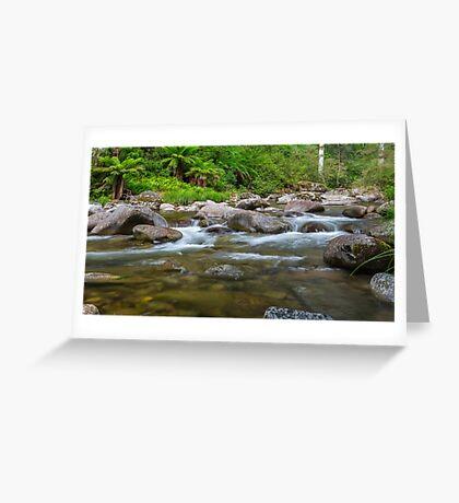 Rocky Valley Creek - Alpine National Park Victoria Greeting Card