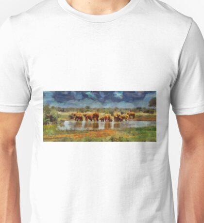 Ban Hunting by Pierre Blanchard Unisex T-Shirt