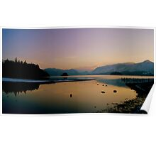 Derwent Water, Lake District National Park. Poster