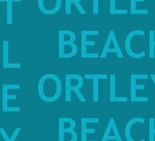 ORTLEY BEACH  Sticker