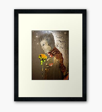 sole ...  Framed Print