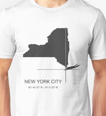 New York City Print Unisex T-Shirt
