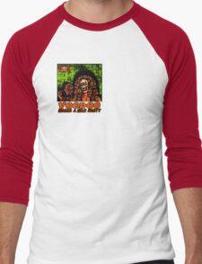 Voodoo Makes a Man Nasty! (Small Image/Rt Shoulder) Men's Baseball ¾ T-Shirt