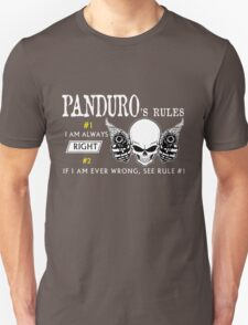 PANDURO Rule #1 i am always right. #2 If i am ever wrong see rule #1 - T Shirt, Hoodie, Hoodies, Year, Birthday T-Shirt