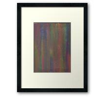 GOLDEN RAINBOW DREAMS ON CANVAS Framed Print