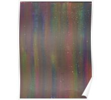 GOLDEN RAINBOW DREAMS ON CANVAS Poster