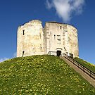 Clifford's Tower - York by Rachel Down