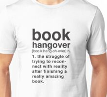 Book Hangover Meaning Unisex T-Shirt