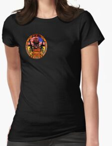 N.Carolina Zombie Extermination Squad (Upper rt shoulder) Womens Fitted T-Shirt