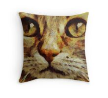 Bright Eyes by Pierre Blanchard Throw Pillow