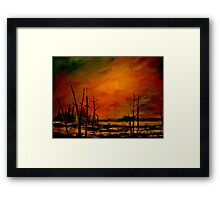 Northern Exposure.. Framed Print