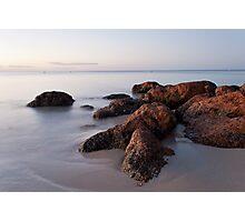 Dusk on the Rocks Photographic Print