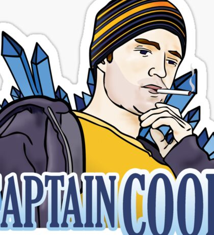 Captain, Cook Sticker