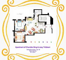 "Apartment of Chandler & Joey from ""FRIENDS"" by Iñaki Aliste Lizarralde"