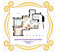 "Apartment of Chandler & Joey from ""FRIENDS"" Photographic Print"