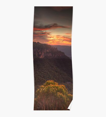 Morning LIght - Blue Mountains World Heritage Area, Australia - The HDR Experience Poster