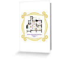"Apartment of Monica and Rachel from ""FRIENDS"" Greeting Card"