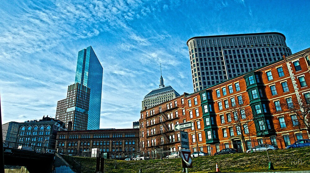Boston sky by Russell L. Frayre / Photographer