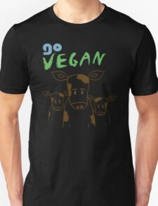 GO VEGAN - CALVES Unisex T-Shirt