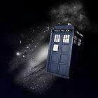 TARDIS in Space by ThePaintedLady