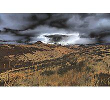 Storm Warning Photographic Print