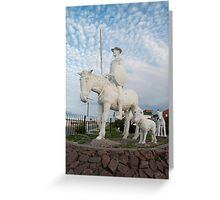 DON QUIJOTE Greeting Card