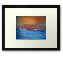Touch of Blue...II Framed Print