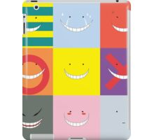 Koro Sensei patchwork iPad Case/Skin
