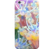 Blue And Yellow Hydrangeas iPhone Case/Skin