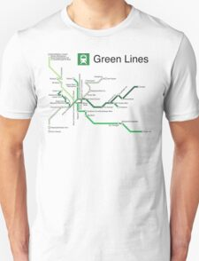 Green Lines T-Shirt