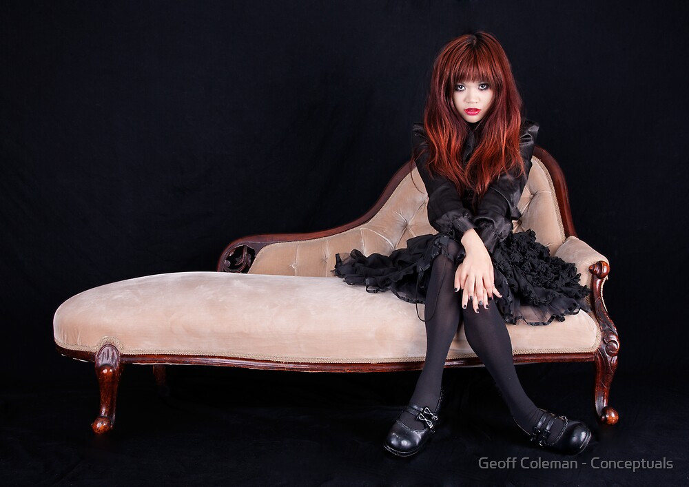 Gothic Lolita by Geoff Coleman - Conceptuals