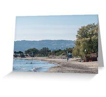 Paradise Beach  Kos   Greece Greeting Card