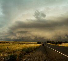 Shelf Cloud - Murrumbateman, NSW by Troy Barrett