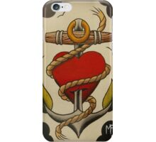 Heart and Anchor iPhone Case/Skin