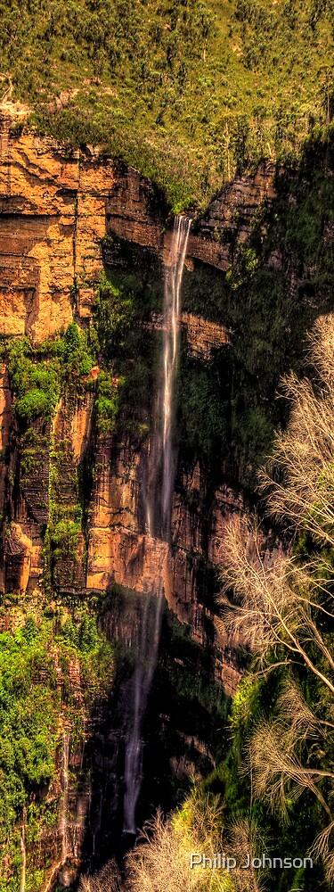 Bridal Veil Falls - Govetts Leap, Blackheath - The HDR Experience by Philip Johnson