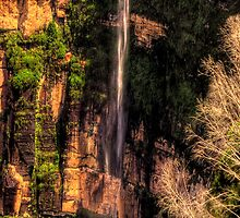 Bridal Veil Falls - Govetts Leap, Blackheath - The HDR Experience by Philip Johnson