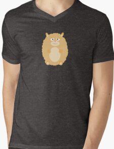 Fluffy Hamster Mens V-Neck T-Shirt