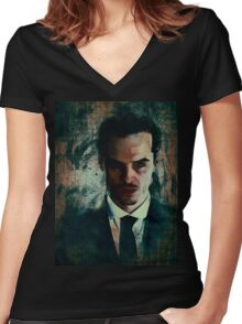 Moriarty Women's Fitted V-Neck T-Shirt