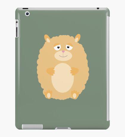 Fluffy Hamster iPad Case/Skin