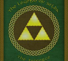 The Legendary Triforce (Legend of Zelda) by enthousiasme