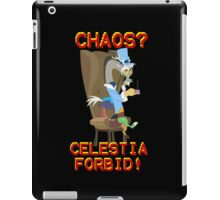 No Chaos Here iPad Case/Skin