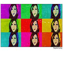 Jennifer Aniston Pop Art poster Photographic Print