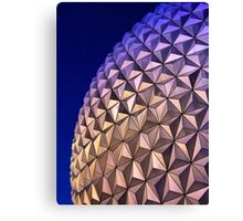 Spaceship Earth, Disney World, Orlando, Florida Canvas Print