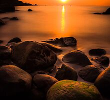 Sunset in Goa (no frame) by Nishant Kuchekar